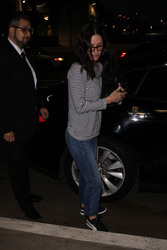 Courteney *** - At LAX Airport 2/16/18