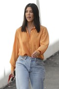 Kourtney Kardashian - Leaving a studio in LA 9/12/18