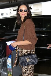 Nina Dobrev - At LAX Airport 3/6/19
