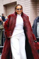 Jennifer Lopez - Leaving The View in NYC 12/12/18