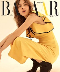 Alexa Chung -                     Harper's Bazaar Magazine (Spain) July 2018.