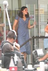 Mandy Moore - Filming 'This Is Us' in LA 1/3/18