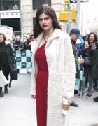Alexandra Daddario - Arriving at the AOL Build Studios in NYC 1/29/18