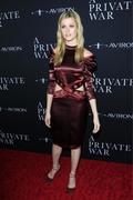 Katherine McNamara - 'A Private War' film premiere in LA 10/24/18