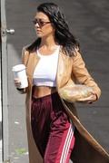 Kourtney Kardashian - Leaving a studio in LA 4/10/18