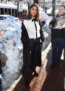 Eiza Gonzalez - Greeting fans in Park City, Utah 1/25/19