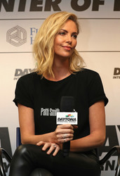 Charlize Theron - Monster Energy NASCAR Cup Series 60th Annual Daytona 500 2/18/18