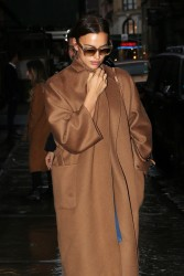 Irina Shayk - Out in NYC 2/11/18