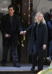 Elle Fanning - Filming in NYC 1/15/19