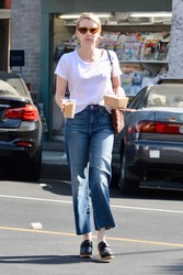 Emma Roberts - Out in LA 9/7/18