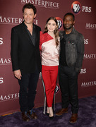 Lily Collins - 'Les Miserables' TV Show Panel during TCA Winter Press Tour in LA 2/1/19