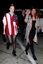 Priyanka Chopra & Sophie Turner - Out for dinner in West Hollywood 1/22/19
