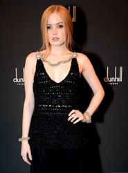 Ellie Bamber - Dunhill & GQ Pre-BAFTA Filmmakers Dinner And Party in London 2/15/18