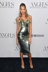 "Romee Strijd - ""ANGELS"" By Russell James Book Launch And Exhibit in NYC 9/6/18"