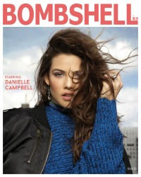 Danielle Campbell -                   Bombshell Bleu January 2018 Photoshoot.