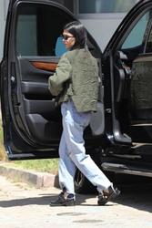 Kourtney Kardashian - Celebrating her 39th Birthday in LA 4/18/18