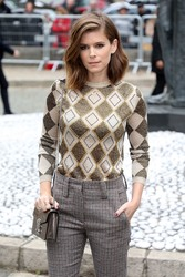Kate Mara - Miu Miu Fashion Show in Paris 10/2/18
