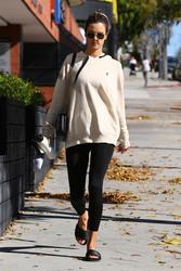 Alessandra Ambrosio - Going to pilates class in LA 1/21/19