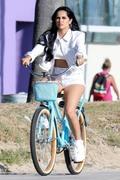 Becky G - Filming a music video in Venice Beach 8/15/18