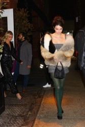 Kendall Jenner - Out for dinner in NYC 2/8/18
