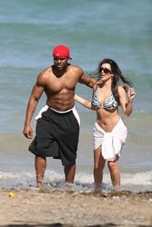 Kim Kardashian - Bikini candids in The Dominican Republic | March 5, 2008