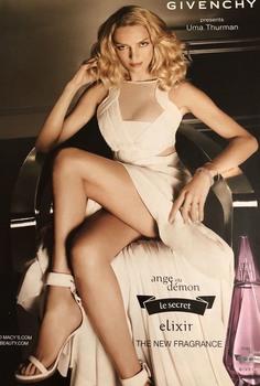 Uma Thurman: Perfume Ad 2011  HQ x 1