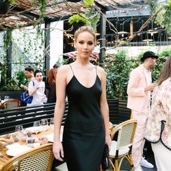 Jennifer Lawrence - The Standard Inaugurates Prune Nourry's: The Amazon in NYC 6/21/18