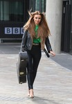 Una Healy -                                 Leaving ''BBC Breakfast'' Manchester May 10th 2018.