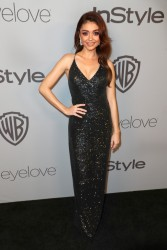 Sarah Hyland - The 2018 InStyle And Warner Bros. 75th Annual Golden Globe Awards Post-Party in Beverly Hills 1/7/18