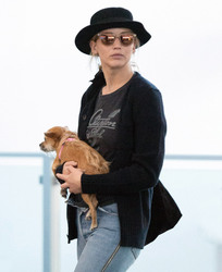 Jennifer Lawrence - At JFK Airport 7/19/18