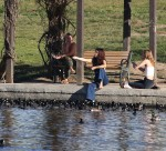 Selena Gomez at Lake Balboa park in Encino 02/02/2018144cc2737644863