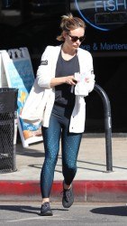 Olivia Wilde - Out in LA 2/13/18