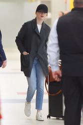 Emma Stone - At Heathrow Airport 3/26/18