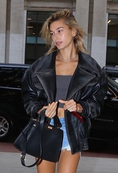 Hailey Baldwin - Out in NYC 9/14/18