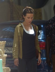 Kate Beckinsale - Filming 'The Widow' in Cape Town 2/5/18