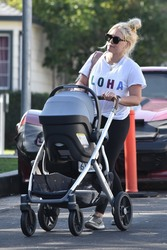 Hilary Duff - Out in Studio City 1/9/19