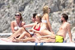 Karlie Kloss - Bikini candids in Capri 7/20/18