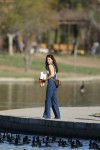 Selena Gomez at Lake Balboa park in Encino 02/02/2018bdc4e1737639263