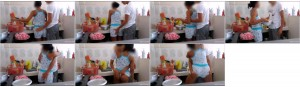 628a6a1061300494 - Bro Foreplay With Sis At Kitchen - Amateur Porn Video