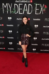Rebecca Black -        AwesomenessTV's ''My Dead Ex'' Premiere Santa Monica March 19th 2018.