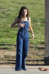 Selena Gomez at Lake Balboa park in Encino 02/02/2018c19b95737640173