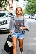 Hailey Baldwin - Out in NYC 8/2/18
