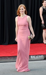 Jessica Chastain at the BAFTA Brits to Watch Event in Los Angeles - July 9, 2011