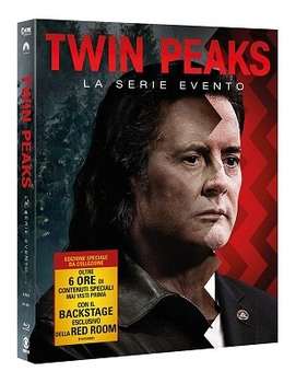 Twin Peaks Stagione 3 (2018) 10XDVD9 Copia 1:1 ITA/ENG/FRE/GER/SPA
