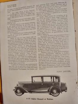 Salon de L'auto Octobre 1932 : Lecture pour tous 5f854a1353232109