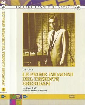 Le prime indagini del tenente Sheridan - Giallo Club 2 (1959) 3xDVD5 COPIA 1:1 ITA