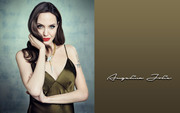 Angelina Jolie : Sexy Wallpapers x 5