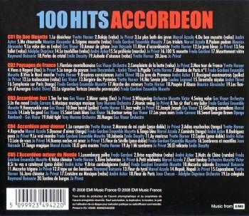 100 Hits Accordeon (5CD) (2008) FLAC