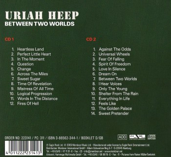 Uriah Heep - Between Two Worlds (2CD) (2005) FLAC