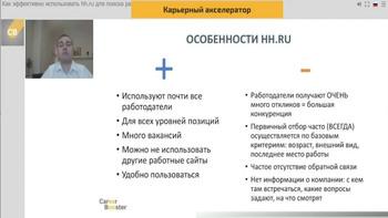 Как эффективно использовать hh.ru для поиска работы (2020) Мастер-класс